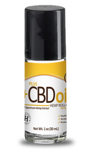 Load image into Gallery viewer, CBD Roll-On Gold Formula 200mg - 1oz by Plus CBD Oil