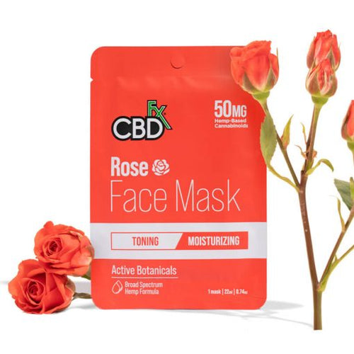 CBD Hemp Rose Face Mask by CBDfx