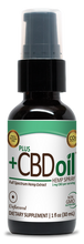 Load image into Gallery viewer, CBD Spray 100mg Unflavored - 1 Oz by Plus CBD Oil