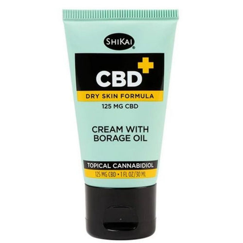 ShiKai CBD Topicals™ Borage CBD Cream Travel Size 125 Mg - 1 Oz