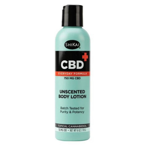 ShiKai CBD Topicals™ CBD Body Lotion Unscented 750 mg – 6 oz
