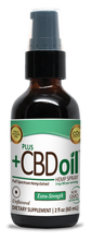 Load image into Gallery viewer, CBD Spray 500mg Unflavored - 1 Oz by Plus CBD Oil