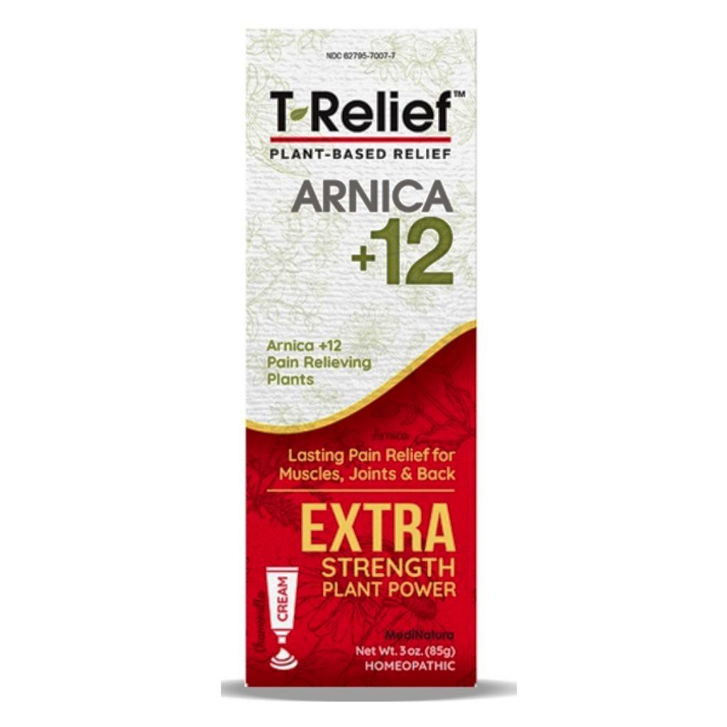 T-Relief Extra Strength Pain Relief Gel 3 Oz