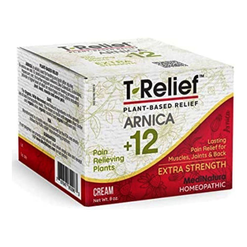 T-Relief Extra Strength Pain Relief with Arnica + 12 Plant-Based Pain Relievers - 8oz