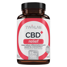 Load image into Gallery viewer, CBD+ Relief - 30 Count by Twinlab