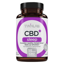 Load image into Gallery viewer, CBD+ Sleep - 30 Count by Twinlab