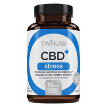 Load image into Gallery viewer, CBD+ Stress - 30 Count by Twinlab