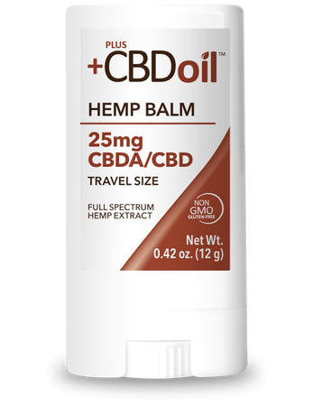 CBD Balm Travel Size 25mg - 0.42 Oz by Plus CBD Oil