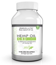 Load image into Gallery viewer, Absolute Nutrition Hemp Oil Caps - 30 Vegan Gel Capsules