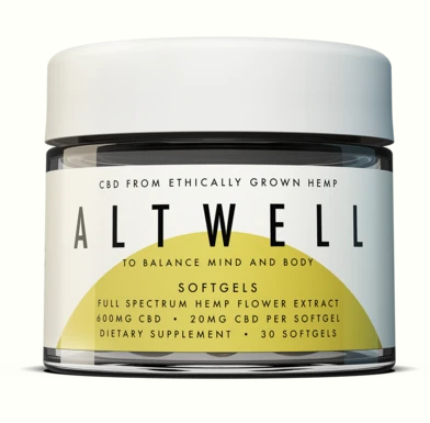 SOFTGELS  TO BALANCE MIND AND BODY - 30 softgels by Altwell