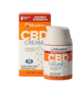 CBD Advanced Therapy Cream Double Strength - 1.7 Oz by Myaderm