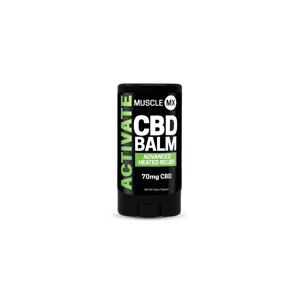 Mini Activate CBD Heating Balm - 0.5 Oz by Muscle MX
