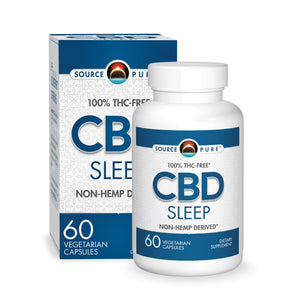 SourcePure CBD Sleep - 60 Vegetable Caps