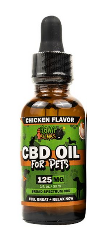 CBD Oil Chicken - 1 Oz by Hemp Bombs