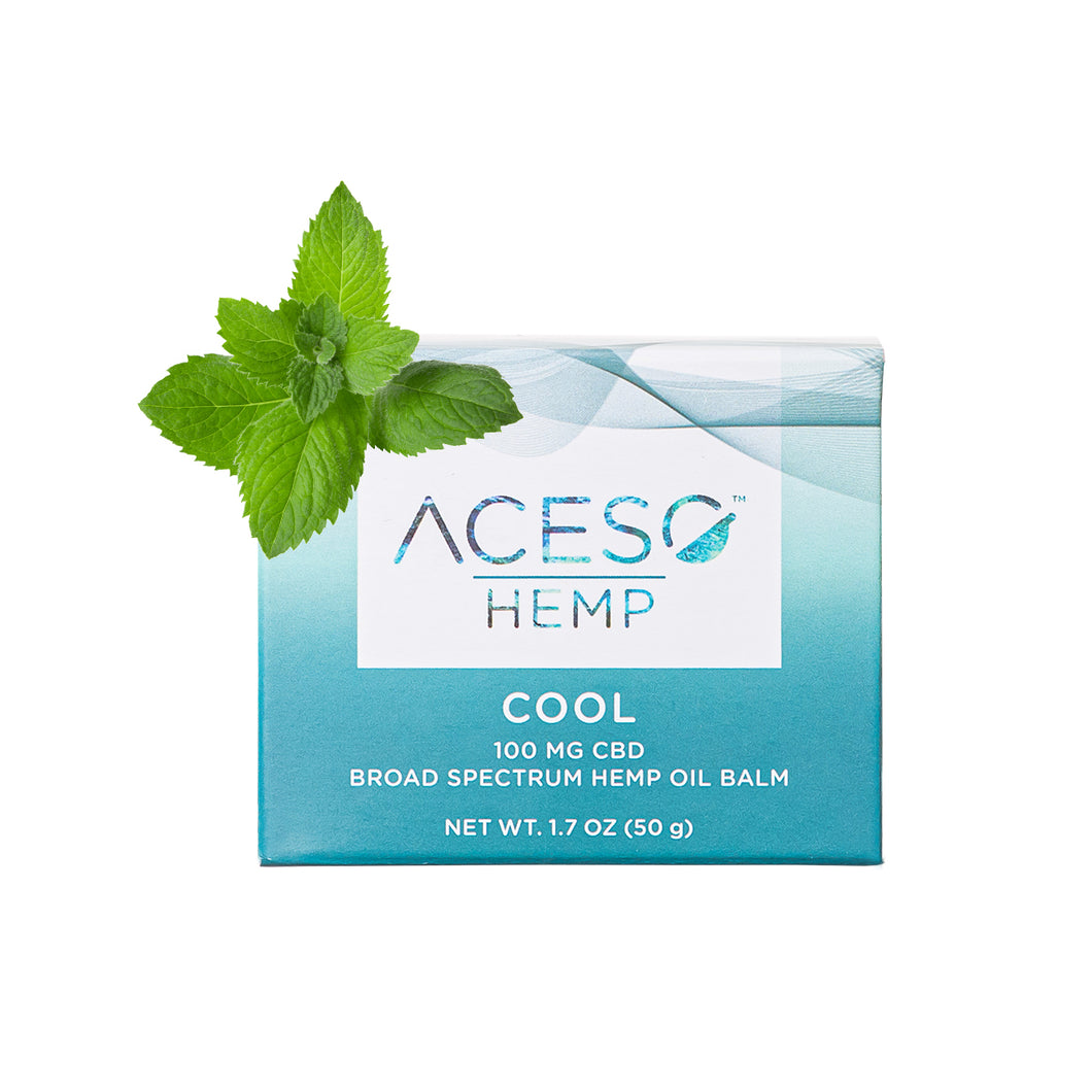 Hemp Oil  - Cool Balm  1.7 Oz by Aceso