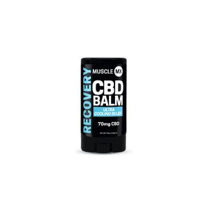 Mini Recovery CBD Cooling Balm - 0.5 Oz by Muscle MX