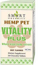 Load image into Gallery viewer, Hemp Pet Vitality Plus Easy Snap Tablets - 30 Chews by Smart Organics