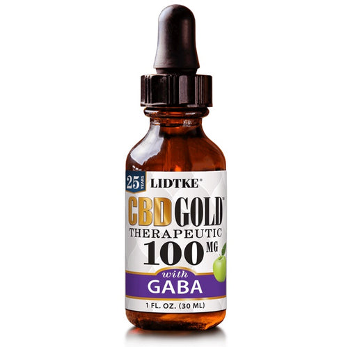 Full Spectrum CBD Gold oil with GABA 100mg -1 Oz by Lidtke