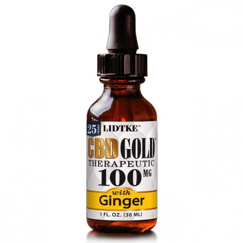 Full Spectrum CBD Gold oil with Ginger 100mg -1 Oz by Lidtke