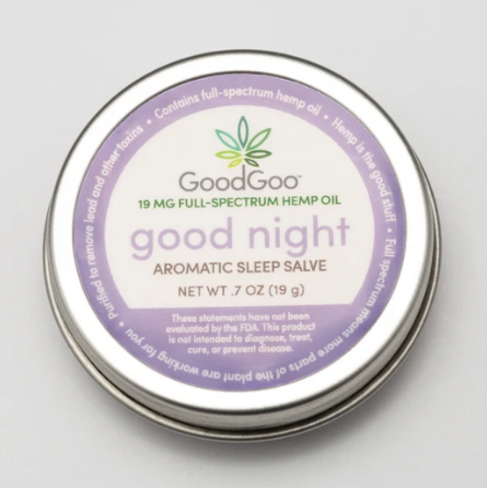 Hemp Salve Good Night Aromatic Sleep - 0.7 Oz by Green Goo
