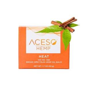 Hemp Heat Balm 1.7 Oz by Aceso