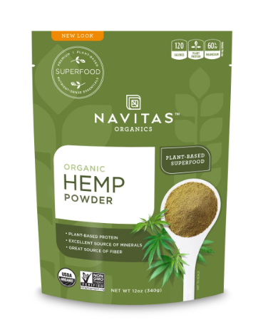 Organic Hemp Protein Powder Unflavor - 12 Oz by Navitas Naturals