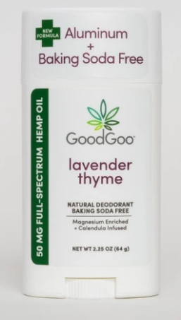 Hemp Deodorant Lavender Thyme 2.25 Oz by Good Goo