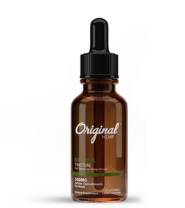 Natural Tincture | Full Spectrum Hemp Extract 500mg - 30ml by Original Hemp