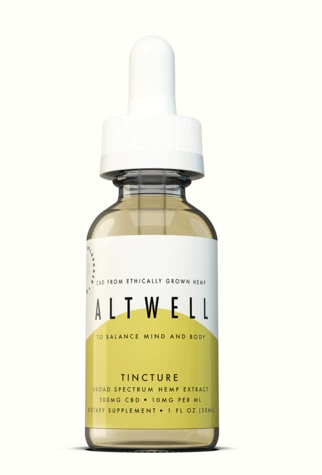 TINCTURE TO BALANCE MIND AND BODY - ( Unflavored ) 1 Oz by Altwell - Facts