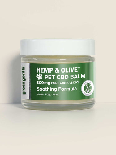Organic CBD Balm for Dogs & Pets 300mg - 1.75 Oz by Green Gorilla