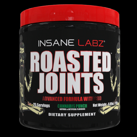 Roasted Joints Cannabis Punch - 25 Servings by Insane Labz