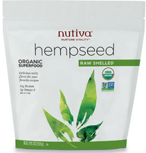 Load image into Gallery viewer, Organic Raw Shelled Hempseed 19 Oz by Nutiva