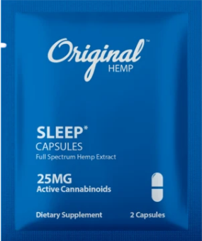 Sleep Capsules 2 Count by Original Hemp