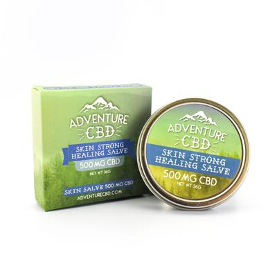 Skin Strong CBD Salve – High Concentrate