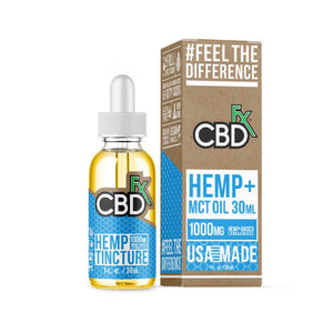 CBD MCT Oil Tincture 1000mg - 30 ml