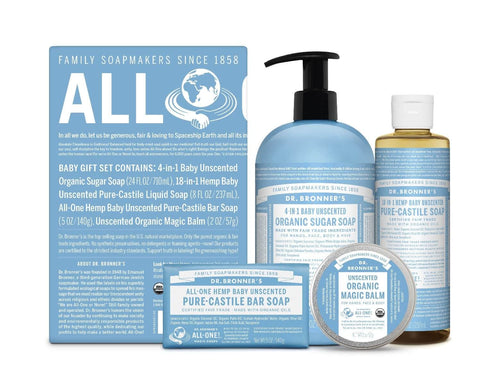 Baby Unscented Gift Set - 1 Kit by Dr Bronner's