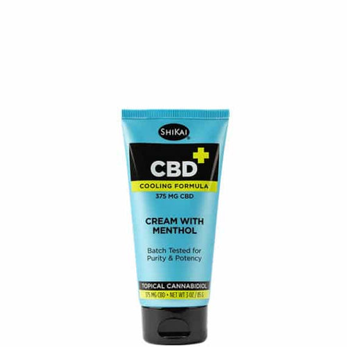 CBD Mentholated Cream 375 mg – 3 oz by Shikai