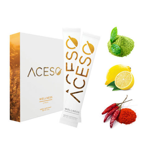 Hemp Sachets Wellness 5 Count by AcesoHemp Sachets Wellness 5 Count by Aceso