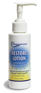Restore Lotion Pain Cream for relief of joint pain