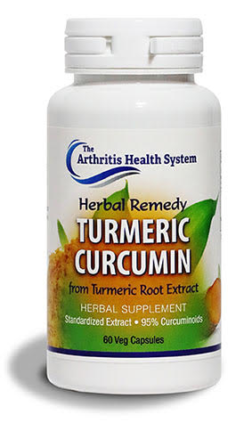 Herbal Remedy Turmeric Curcumin for help with joint pain and inflammation