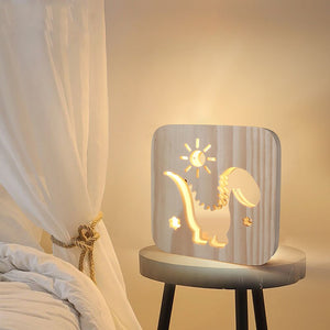 Wooden Nightlight