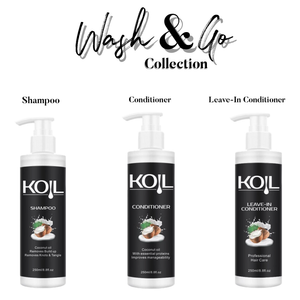 KOIL Wash & Go Bundle