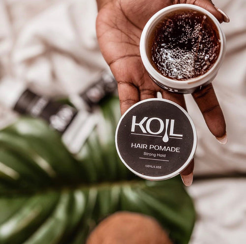 Koil Extra Hold Brown Hair Pomade