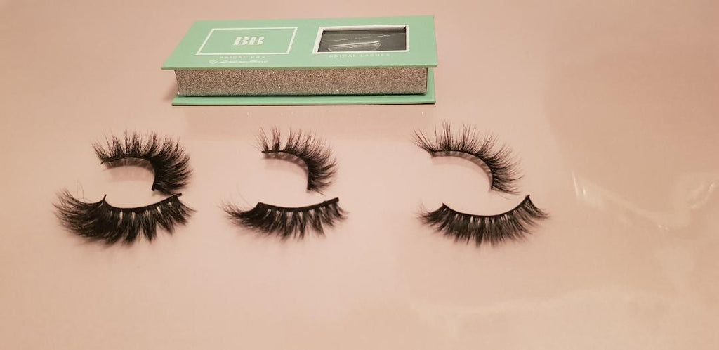 Bridal Box Mink Fur Lashes