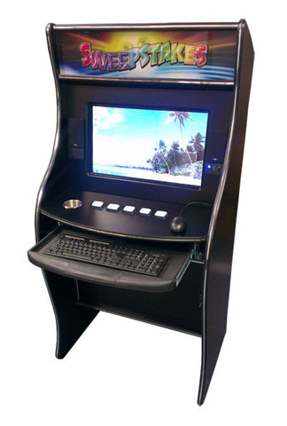 Sit Down Internet Cafe Kiosk and Software