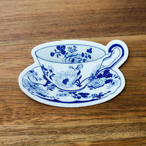 Vintage Teacup Sticker