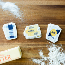 Load image into Gallery viewer, Waitress Sugar Butter Flour Sticker Set