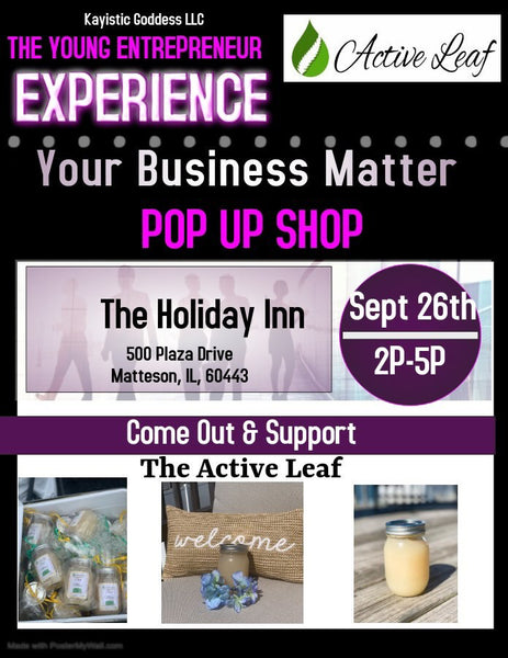 The Young Entrepreneur Experience - Pop Up Shop