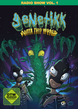 GENETIKK OUTTATHISWORLD RADIOSHOW DVD - OUTTATHISWORLD