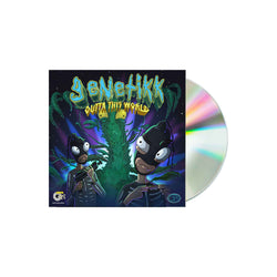 GENETIKK - OTW VOL.1 - CD - OUTTATHISWORLD